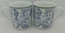 2 Villeroy & Boch Cordoba Switch 3 Blue Birds MUGS Coffee Tea Cup Doves Germany