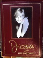 Princess Diana Rare Leather Gilt Oversize The Portrait Book Photos Easton Press