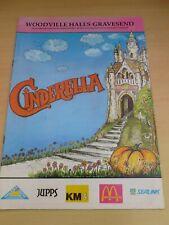 More details for ken goodwin rose-marie cinderella gravesend pantomime  program 1991