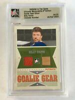Billy Smith 2005-06 ITG Ultimate Memorabilia Goalie Gear #3 NY Islanders /25