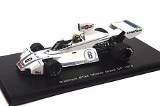 BRABHAM BT44 1ST BRAZIL GP 1975 CARLOS PACE 1:43 SPARK S4345 RESIN NEW MODEL