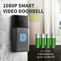 SpotCam Video Doorbell Pro, Wi-Fi , Wire-Free, 1080P, 180 Degree Viewing Angle