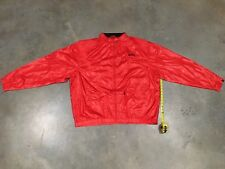 SHMACK LVY League Jacket In Chinese Red Sz. 4XL Retail$ 84! NWT 100% Authentic!