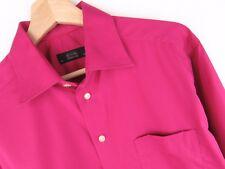 NV510 ETON SHIRT TOP GANGHESTER FUCHSIA PINK ORIGINAL PREMIUM size 15,5/39