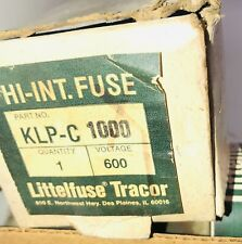 Littelfuse Hi-Int Current Limiting Time Delay KLPC 1000