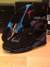"Nike Air Jordan Retro 8 ""Aqua"" 3 Peat Chrome Bugs Bunny Playoffs Phoenix"
