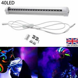 USB 40 LED Ultraviolet Strip Purple Light Bar DJ Party Blacklight UV Lamp DC 5V