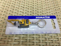 Universal Hobbies Komatsu PC210 Excavator Diecast Key ring Key Fob UH5523