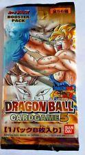 Carte Dragon Ball Z DBZ Card Game Part 5 #Booster x1 BANDAI 2004 MADE IN JAPAN