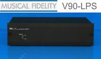 Musical Fidelity V90-LPS High Perfomance MM/MC PHONO Vorverstärker NEU - schwarz