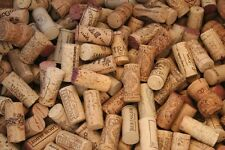 400 Natural & Synthetic Used wine corks. Wedding Crafts, red &white wine