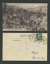 1913 CARNAVAL DE NICE FRANCE # 14 ATTENTION au GAGNANT POSTCARD
