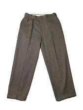 Vintage Polo Ralph Lauren Wool Pants Size 31 Talon Zipper Made In USA