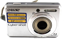 Sony Cyber-Shot 7.2MP DSC-S750 Digital Camera
