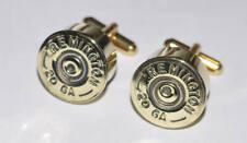 Remington Sts 20 Gauge Shotgun Shell Bullet Cufflinks Made Usa Trap Shooting