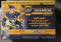 2019-20 Factory Sealed Upper Deck Hockey Series 1 Young Guns Mega Box NHL