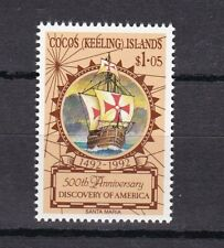 Cocos Islands 1992 Anniversario scoperta dell'America 150 MHN