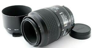 【 Exe+++++ 】 Nikon AF Micro Nikkor 105mm f/2.8 Macro Auto Focus Lens from JAPAN