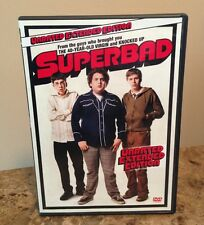Superbad (DVD, 2007, Unrated; Extended Edition)-Seth Rogen, Jonah Hill,