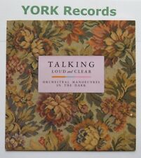 """ORCHESTRAL MANOEUVRES IN THE DARK - Talking Loud & Clear - Ex 7"""" Single Virgin"""