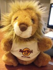 Hard rock cafe Melbourne plush lion hand puppet LOOPY w/t-shirt 1995 limited ED