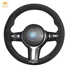 Suede Steering Wheel Cover for BMW F87 M2 F80 M3 F82 M4 M5 F12 F13 M6 F30 #BM101