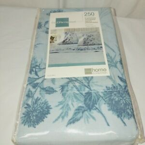 Jcpenny 2 premium standard 250 Thread-Count pillowcases  (2-Pack) blue floral