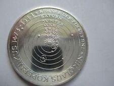 1971-D  KM 129  Germany 5 mark Kopernikus silver BU