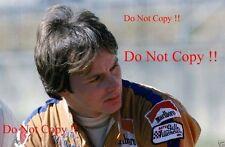 GILLES Villeneuve McLaren f1 Ritratto British Grand Prix 1977 Fotografia