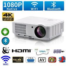 12000 Lumen Heimkino Projektor Beamer HDMI Home Theater Full HD 1080P Media DE