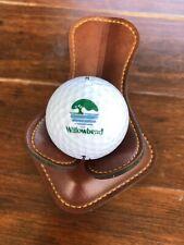 Logo Golf Ball Willowbend Golf Course Wichita Kansas