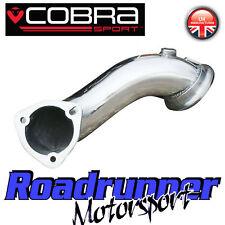 "Cobra Sport Astra VXR MK5 Pre Gato De-Cat Bajante Tubo de escape eliminar 2.75"" Nuevo"