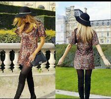 Zara Mini Velvet Dresses for Women