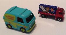 Matchbox Scooby-Doo Billboard Truck And Machine Van Toy Vehicles Lot Of 2