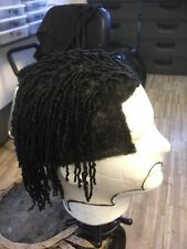 Dread manweave stunnatape male wig hair replacement large unit hand made