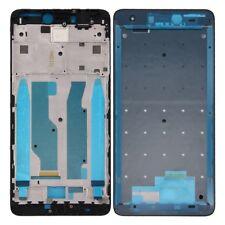 para Xiaomi Redmi Note 4x FRENTE CARCASA carcasa LCD-Rahmen Frame Frente Negro