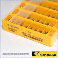 DFT 06T308HP KMF KENNAMETAL*** 10 INSERTS *** FACTORY PACK ***