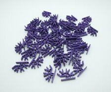 50 K'nex 4-Way 3D Connector Purple Replacement Part Piece 909092 Expansion