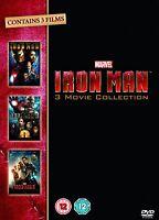 Iron Man Trilogy Dvd Box Set Part 1 2 3 Triple Pack New Marvel Original Uk