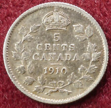 Canada 5 cents 1910 (C2403)