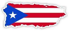 Flag of Puerto Rico Hard Hat Sticker   Motorcycle Helmet Decal   Rican Welder
