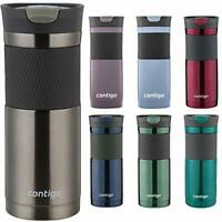Contigo SnapSeal Byron Stainless Steel Travel Mug, 16 Assorted Colors , Sizes