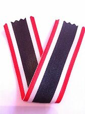 Ruban de croix du mérite Guerre allemande 2eme classe KVK WWII REPRO