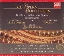 L'opera Collection-La Traviata, Tosca & LA BOHEME (3-cd-box, Nuovo! OVP)