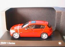 BMW 125i SERIES 1 F20 2011 KARMESIN RED JADI TOYS 1/43 ROUGE CARMIN ROT ROSSO