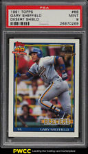 1991 Topps Desert Shield Gary Sheffield #68 PSA 9 MINT