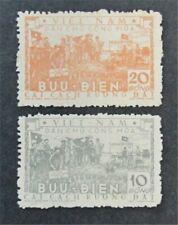 nystamps Viet Nam, DP Stamp # 24.25 Mint H $36
