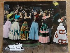 Aushangfoto EINE BRAUT FÜR SIEBEN BRÜDER Musical 1954