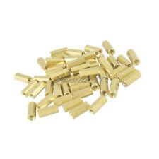 50pcs NEW M3 12 mm Hexagonal net nut Female brass Standoff/Spacer