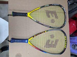 Lot of  2 - BEDLAM E-FORCE Racquetball Racquet